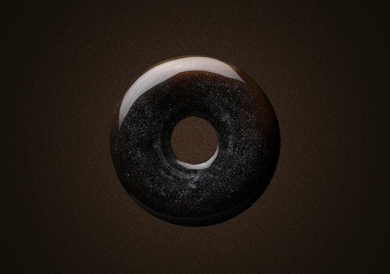 Marketing campaign concept for commemorative limited-edition line of donuts inspired by the first black hole photographic event. Together with the special product line, an exclusive packaging made of space-alike premium material was created.