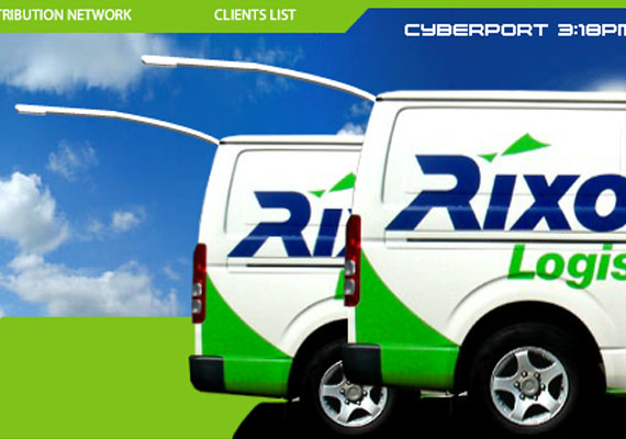 Rixon is a third party logistics company based in Hong Kong. It specializes in providing premium last-mile distribution throughout Hong Kong, Mainland China and Taiwan. The client wanted a creative solution that conceptually and graphically translated the company's principles and strenghts clearly and immediately.<br><br> 								<a href = 'http://bit.ly/13bDGIY' target='new'>www.rixon-logistics.com</a>