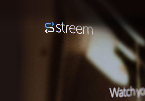 Streem is a Silicon Valley tech startup that enables cloud video storage + playback across multiple platforms. A brand new logo was designed based on the company's founders vision and aesthetic tastes. The company, which is part of Ironfire's angel portfolio, was acquired by <b>Box, Inc.</b> in 2014.  								<br><br><a href='http://bit.ly/1wNmZOS' target='new'>www.streem.io</a>